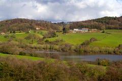 Английская сельская местность Стоковое Изображение RF
