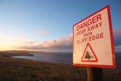 Английская южная береговая линия около двери Durdle Стоковая Фотография