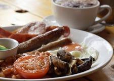 английская язык завтрака Стоковая Фотография