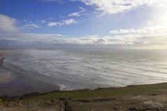 Английские океанские волны взморья Стоковые Фото