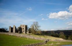 Английские руины поместья Стоковые Изображения RF