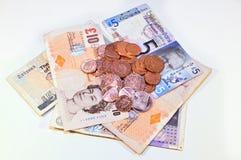 Английские фунты фунтов Scottish Стоковое Фото