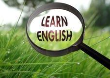английские языки учат Стоковое Изображение RF