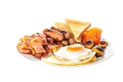 Английский большой завтрак Стоковое Фото