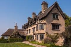 Английский деревенский дом Стоковая Фотография