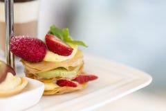 Английский комплект плотного ужина с чаем Стоковое Изображение RF