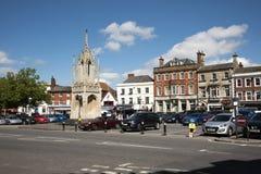 Английский небольшой город Devizes Уилтшира Великобритании Стоковое фото RF