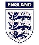 Английский логотип клуба футбола Стоковое фото RF