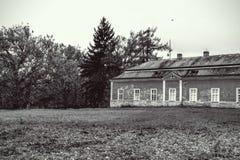 Английский парк в Dobris Стоковая Фотография