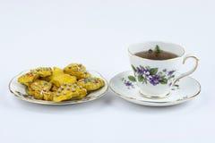 Английский послеполуденный чай стоковые изображения