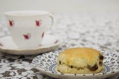 Английский послеполуденный чай Стоковое Изображение