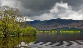 Английский район озера Стоковое Фото