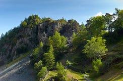 Английский район озера Стоковое фото RF