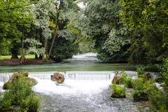 Английский сад - Мюнхен Стоковые Изображения RF