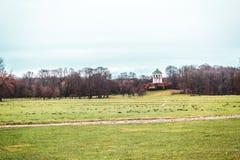 Английский сад на Мюнхене, Германии стоковое изображение rf