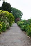 Английский сад страны Стоковое Изображение RF