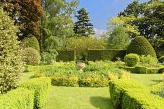 Английский сад стоковые фотографии rf