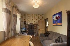 Английский сельский дом - комната завтрака Стоковое Фото