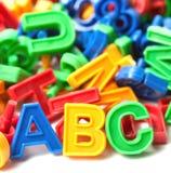 Английский язык алфавита Стоковое Изображение