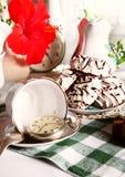 Английский язык церемония чаепития 5 часов Стоковые Фото