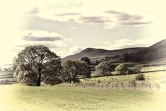 Английское место сельской местности стоковая фотография