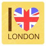 Английское love-03 Стоковая Фотография