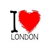 Английское love-16 Стоковое Изображение RF