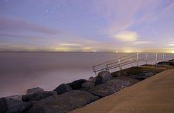 Англия, Skegness, Северное море Стоковая Фотография
