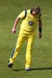 Англия 2012 v Австралия 4-ый один international дня Стоковые Изображения