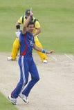 Англия 2012 v Австралия 4-ый один international дня Стоковое Изображение RF