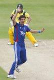 Англия 2012 v Австралия 4-ый один international дня Стоковая Фотография RF