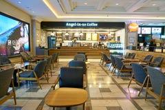 Анджел-в-мы кофе стоковое фото rf