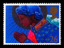 Анджел моля, рождество 1998 - serie ангелов, около 1998 Стоковые Изображения RF