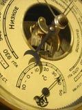 анероидный барометр Стоковая Фотография RF