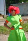 Аниматор актера девушки дня в костюмах героинь японских анимационных фильмов Стоковые Фото