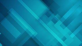 Анимация абстрактной синей технологии геометрическая видео-