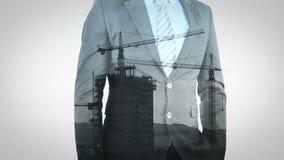 Анимация бизнесмена акции видеоматериалы