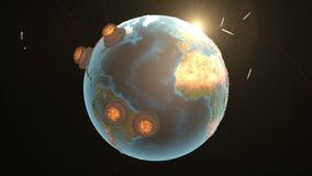 анимация 3d ядерной войны бесплатная иллюстрация