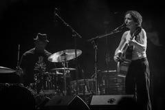 Ани DiFranco на Carroponte MI 05-07-2017 Стоковое Фото