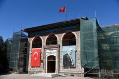 Анкара, национальное собрание Turkey-09,19,2018-The историческое турецкое грандиозное, стоковые изображения