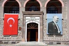 Анкара, национальное собрание Turkey-09,19,2018-The историческое турецкое грандиозное, стоковая фотография