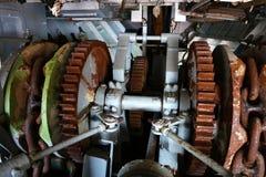 Анкерная цепь корабля на шлюпке Стоковые Изображения RF