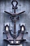 Анкер крейсера в HDR Стоковые Фотографии RF