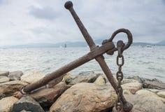Анкер St Tropez стоковое изображение rf
