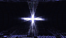 данные 3d представляют передачу технологии абстрактный интернет иллюстрации 3d Обломок в действии Организация ДАННЫХ ПО работы бо бесплатная иллюстрация