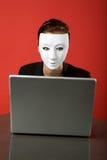 анонимныйый серфер Стоковые Фото