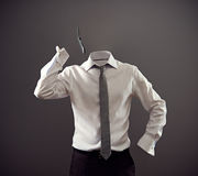 Анонимный говорить на мобильном телефоне стоковая фотография