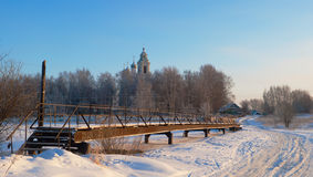 Анормалные холодные произношения по буквам в центре европейской части Russi Стоковые Изображения RF