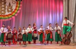 Ансамбль детей народных инструментов Стоковые Фото