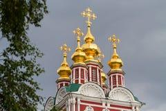 Ансамбль монастыря Novodevichy в Москве, России стоковая фотография